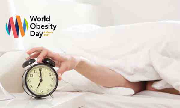 Διαδικτυακή διάλεξη Ιατρικού Κέντρου του ΠΛ: Ποια η σχέση μεταξύ ύπνου και σωματικού βάρους;
