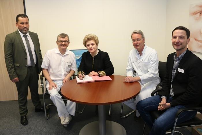 Επίσκεψη της Γ. Διευθύντριας του Υπ. Υγείας Χρ. Γιαννάκη σε νοσοκομεία της Γερμανίας