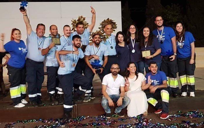 1η, 2η και 3η θέση για φοιτητές του Frederick στον Διεθνή Διαγωνισμό Πληρωμάτων Ασθενοφόρων