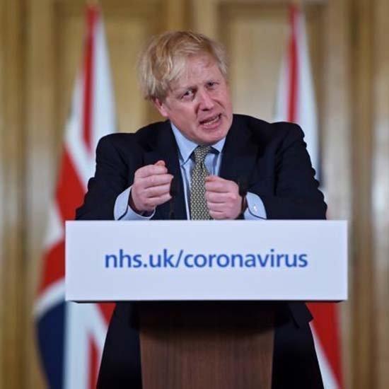 O Τζόνσον έχει ακόμη ήπια συμπτώματα Covid-19, 1,8 εκ. δυνητικούς φορείς αποκάλυψε το NHS
