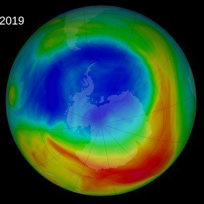 Η τρύπα του όζοντος συρρικνώθηκε το 2019 περισσότερο από κάθε άλλη φορά