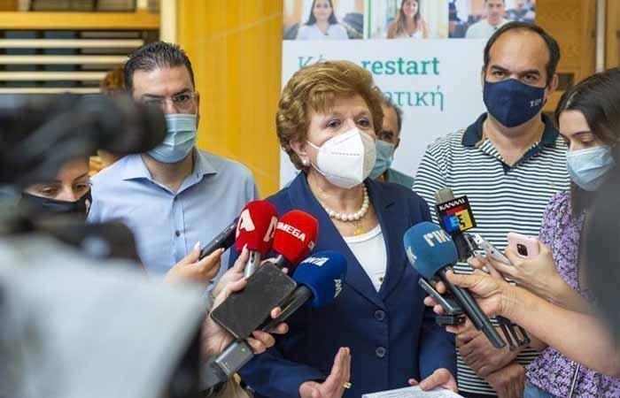 Χρ. Γιαννάκη: Πέραν των 8.000 οι εμβολιασμοί στα «walk-in», πλησιάζουμε τους στόχους