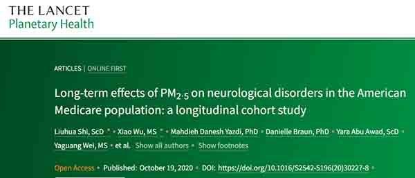 Η ατμοσφαιρική ρύπανση αυξάνει σημαντικά τον κίνδυνο νευρολογικών παθήσεων, όπως Αλτσχάιμερ και Πάρκινσον