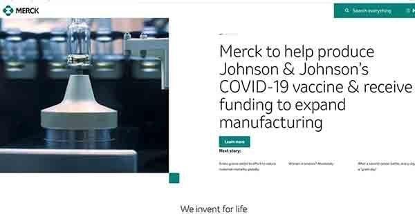 Η Merck & Co Inc θα βοηθήσει στην παραγωγή του εμβολίου της ανταγωνιστικής της Johnson & Johnson